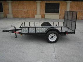 Remolque Traila Cuatrimotos Trailas Camionetas Mty 18