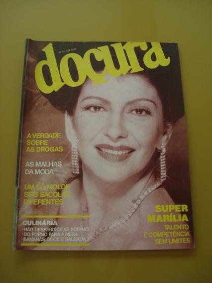 Revista Doçura 93 Marília Pera Moda Culinária 1993 F850