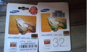 Cartão Micro Sd Sdhc Samsung Evo 32gb Classe10 The Best