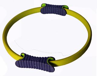 Arco Anel Flexivel Para Pilates Circulo Mágico Pernas