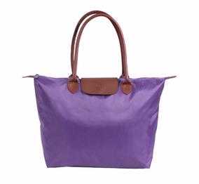 Bolsa Feminina Capricho Lilas Xg - Original Dmw 48654