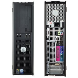 Imagem 1 de 3 de Dell Optiplex 755 Desktop Core 2 Duo 2gb Hd 160gb
