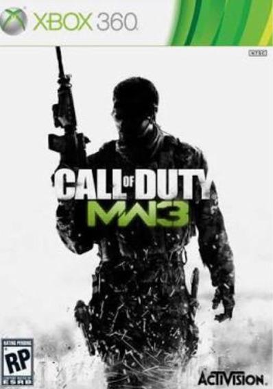 Call Of Duty Mw3 Xbox 360