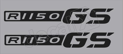 Emblema Adesivo Bmw R1150gs Par Bwf1150gs7