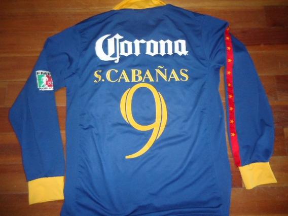 Camiseta America (mexico) Coleccion # 9 Del Goleador Cabañas