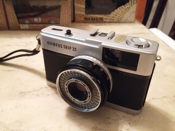 Raridade Câmera Olympus Trip 35 - Made In Japan