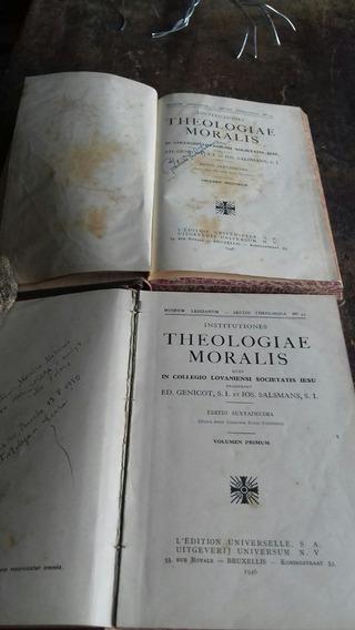 Theologia E Moralis-vol. 1 E 2 - Latim - Frete Grátis