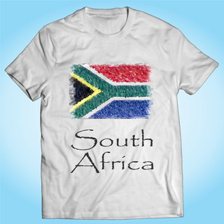 Camisa South Africa Freedom Liberdade Nação Personalizada