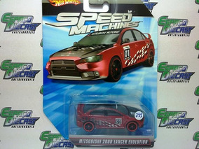 Mitsubishi 2008 Lancer Evolution Hot Wheels Speed Machines