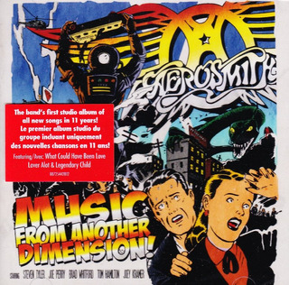 Aerosmith - Music From Another Dimension [cd] Importado Orig