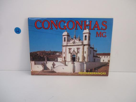 Lote - Congonhas (minas Gerais) 12 Cartões