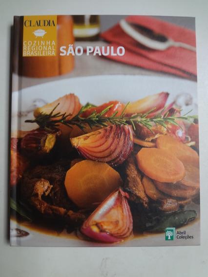 Livro Cozinha Regional Brasileira São Paulo