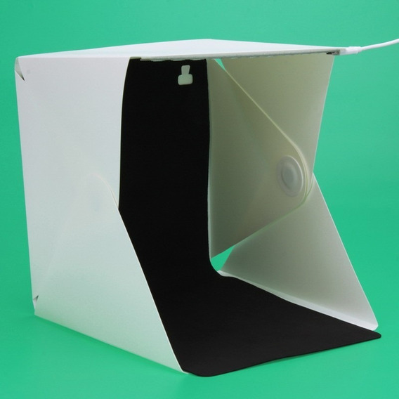 Mini Estúdio Portátil Com Iluminação Led - Mini Studio