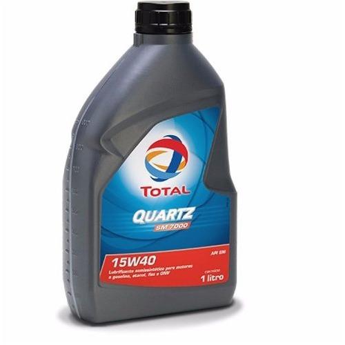 Total Quartz 7000 Sn Óleo Motor 15w40 Semi-sintético 1l