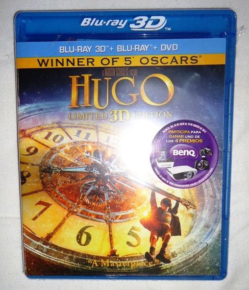 La Invencion De Hugo Pelicula Blu-ray 3d + Blu-ray + Dvd