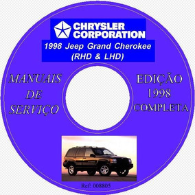 Cd Com Manuais Da Grand Cherokee 1998.