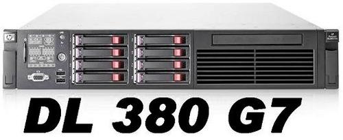 Imagem 1 de 3 de Servidor Hp Dl380 G7 2x Xeon Q.core/32gb Ram/2x300gb