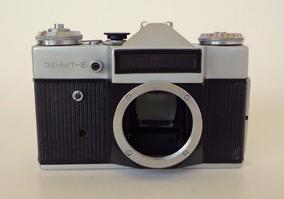 Câmera Zenit E - Somente O Corpo (p/retirada De Peças)
