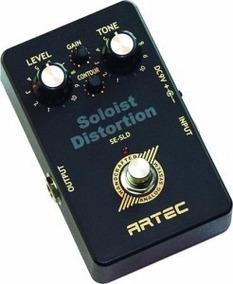 Artec Se-sld Pedal P/ Guitarra Soloist Distortion-mostruário