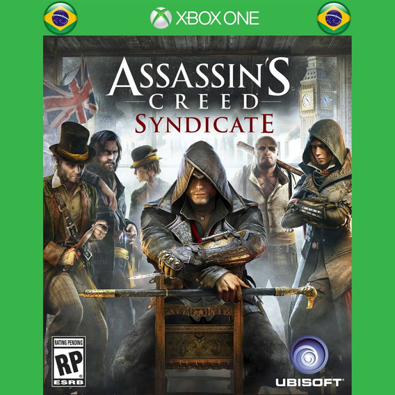Assassins Creed Syndicate - Xbox One - Pt/br - Recebe Hoje!