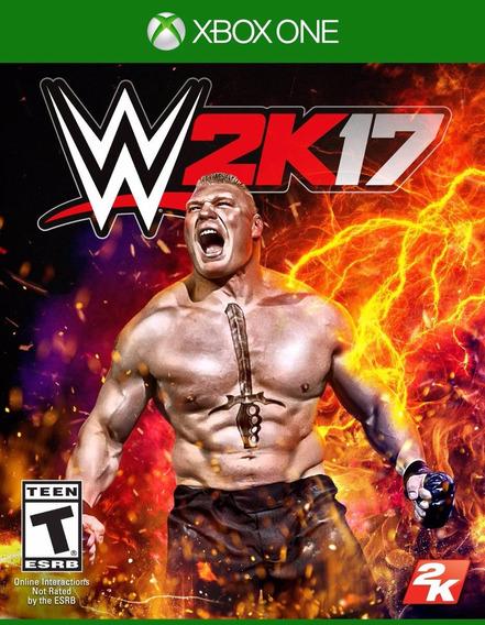 Wwe 2k17 - Xbox One - Pronta Entrega!