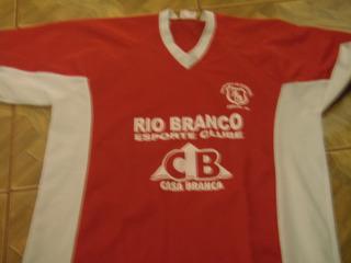Camisa Do Rio Branco De Amparo