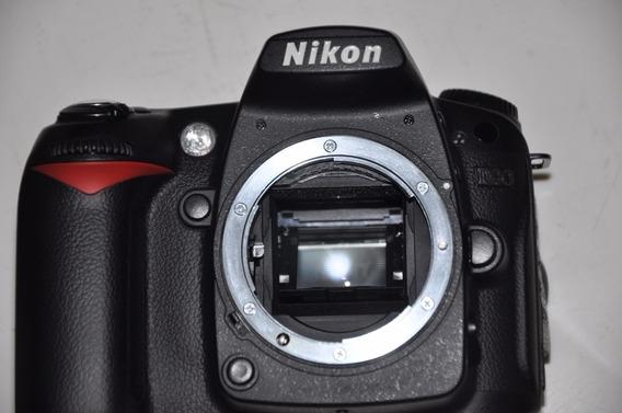 Camera Nikon D90 - Excelente, Leve A Sua, Vai Sem Grip..