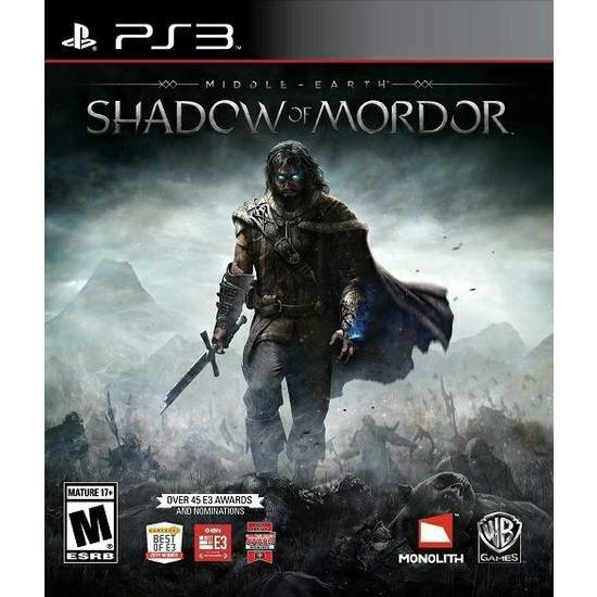 Jogo Shadow Of Mordor Ps3