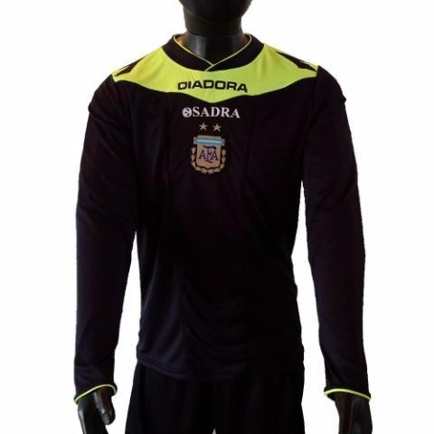 Camiseta De Arbitro Mangas Largas Diadora Sadra Oficial
