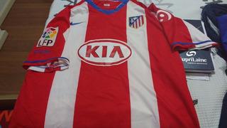 Camisa Atlético De Madrid, Nike, M, 2007-2008, Importada!
