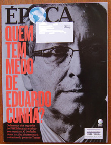 Revista Época 12/09/2016 Nº 952 Eduardo Cunha Temer