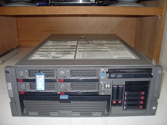 Hp Proliant Dl580 G4 04 Proc Quadcore 3,0ghz 24gb Mem Nc193