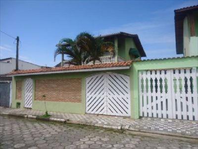 344 - Casa Lado Praia Bem Pertinho Do Centro De Mongagua