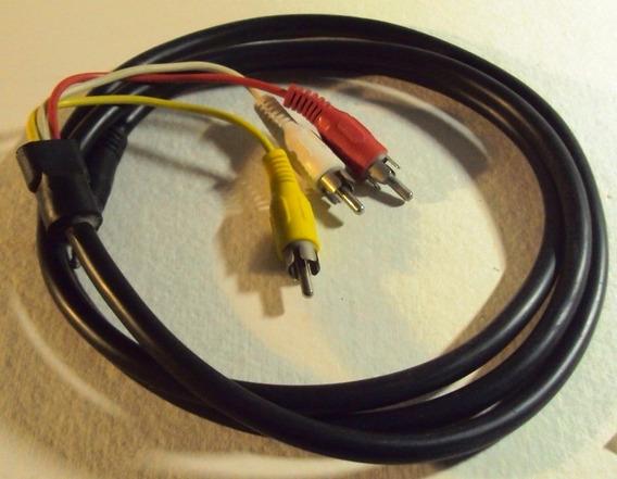 061 Cll Cabo P2- 3rca Para Tv Celular Gps Dvd Etc