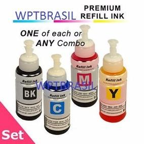 Kit 4 Refil De Tinta 664 Para Epson L555 L565 L575 L365