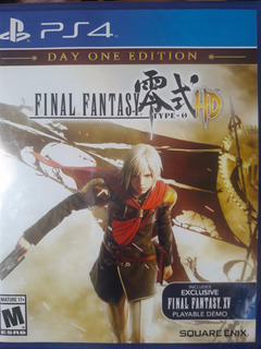 Final Fantasy Type 0 Hd Ps4 Nuevo Sellado Delivery Stock Ya