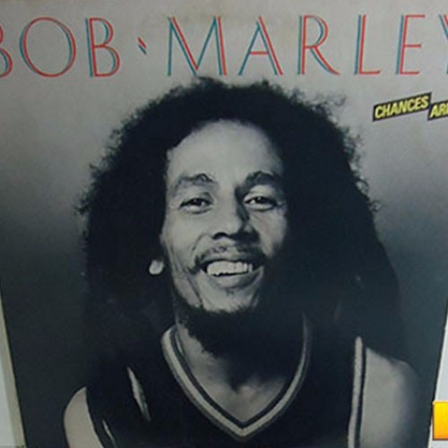 Bob Marley 1981 Chances Are Lp Importado Reggae On Broadway