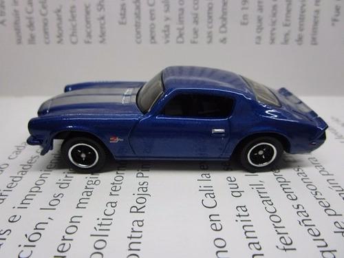 Chevrolet Camaro Escala Pequeña Coleccion Matchbox