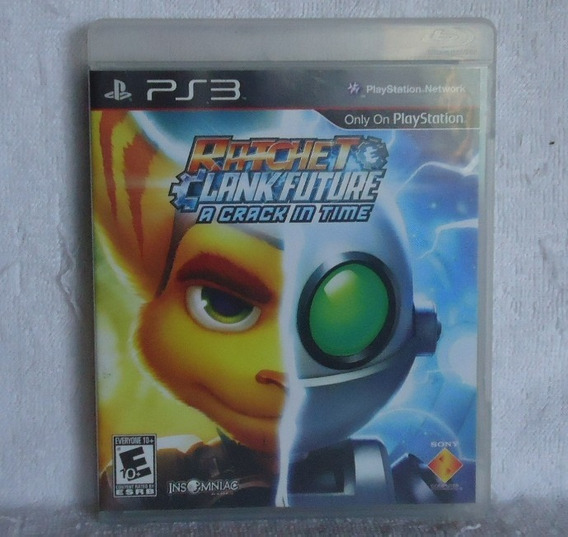 Ratchet Clank Future A Crack In Time Ps3 * Frete Gratis Leia
