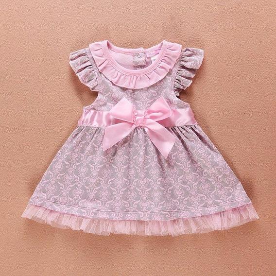 Vestido Bebê Infantil Casual Festa Fashion.