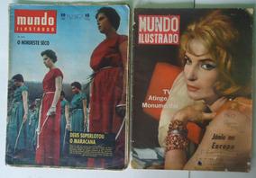Mundo Ilustrado - 2 Revistas - No Estado - Leia Anuncio-