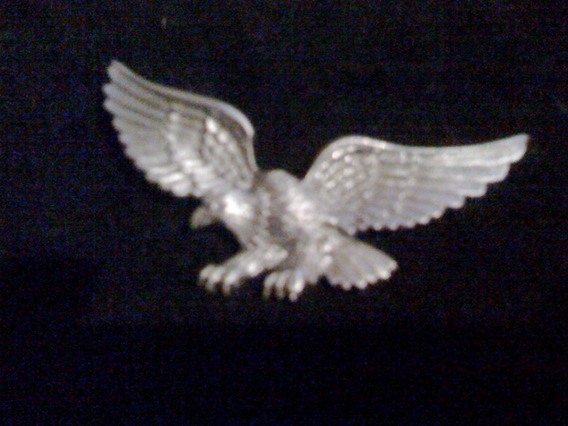 Aguila Para Corbata De Piel