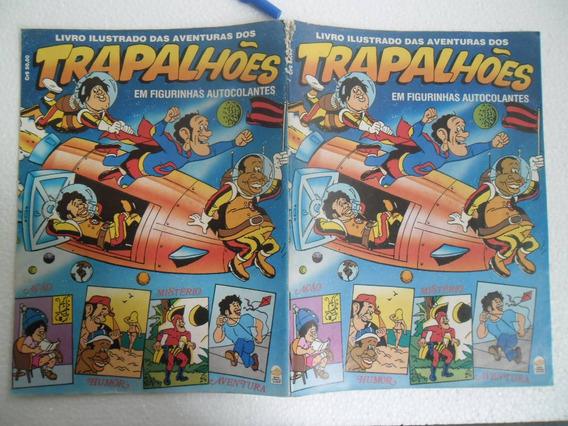 Album De Figurinhas Os Trapalhoes Ed. Bloch