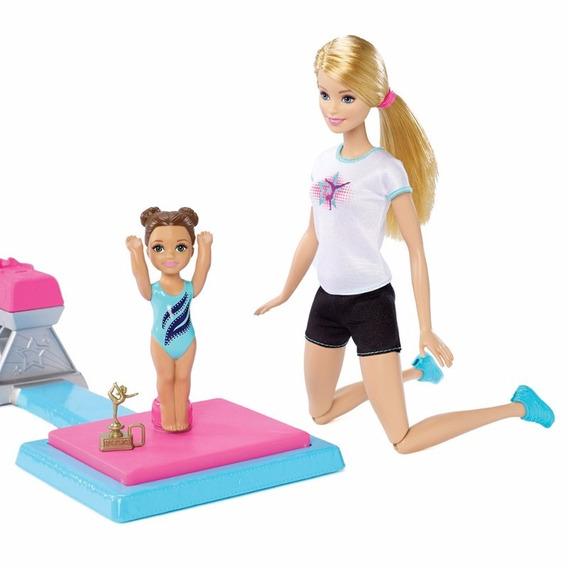 Boneca Barbie Boneca Ginasta Piruetas Mattel Dmc37
