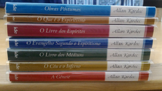 Kit Kardec Completo 7 Livros Doutrina Espírita Espiritismo