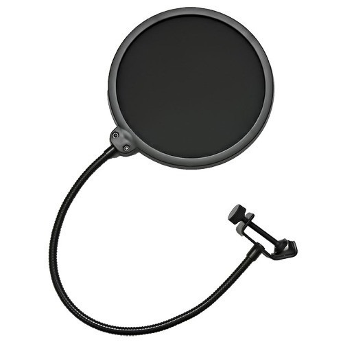 4x Pop Filter Para Microfone / Filtro Estúdio Studio