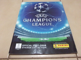 Album De Figurinhas Uefa Champions League 2007/2008