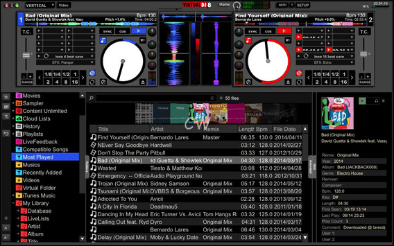 Virtual Dj 8.2/3 Pro Mac Os Completo + Skin Do Serato