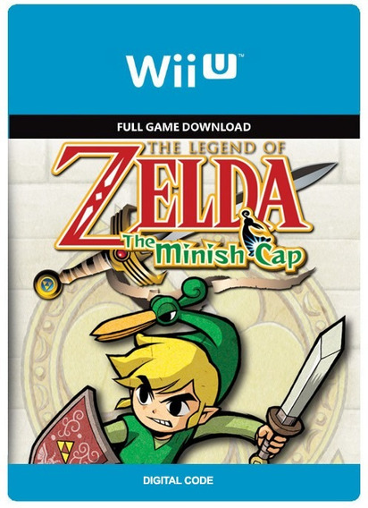The Legend Of Zelda The Minish Cap - Wii U Digital Codigo