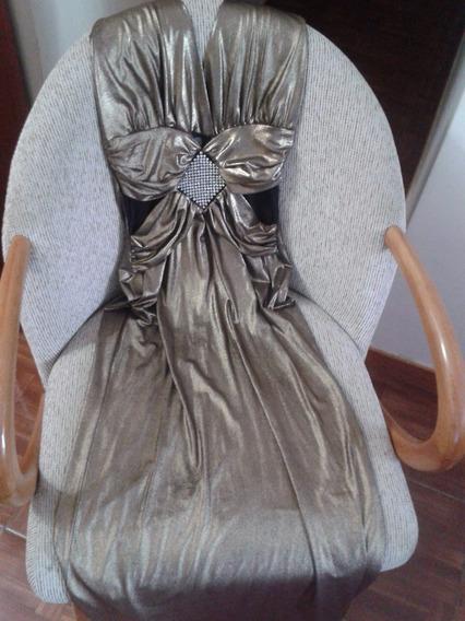 Vestido Largo Para Coctel O De Noche (usado) Talla M